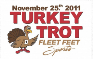 The 2011 Turkey Trot Logo