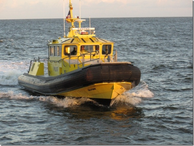 Glynn County Pilot boat.