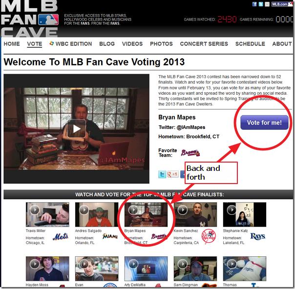 MLBMapesFanCave